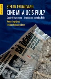 Cine mi-a ucis fiul ?  de Ștefan Frumușanu- recenzie
